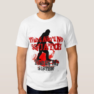 Funny Gone Squatchin personalized T-Shirt