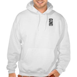 Funny Gone Squatchin Hooded Sweatshirt