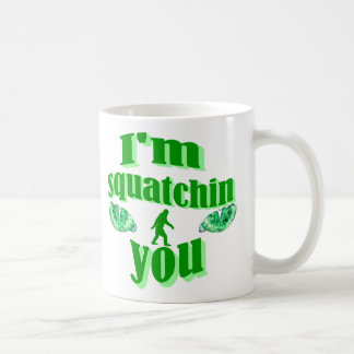 Funny gone squatching coffee mug