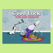 Funny good luck with your recovery card