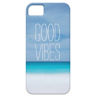 Funny good vibes tropical ocean photo hipster iPhone SE/5/5s case