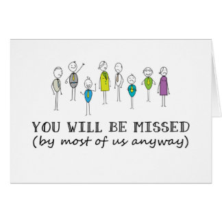 Funny Farewell Cards - Invitations, Greeting & Photo Cards ...