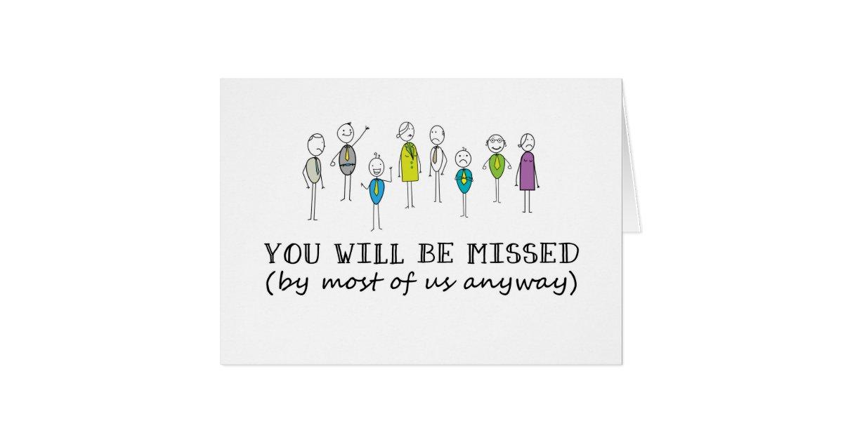 Funny Goodbye Card, Rude Farewell Card, Funny Card   Zazzle
