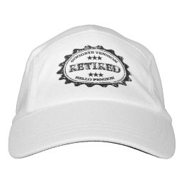 Funny Goodbye tension hello pension retirement hat