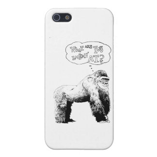 Funny Gorilla Cover For iPhone SE/5/5s