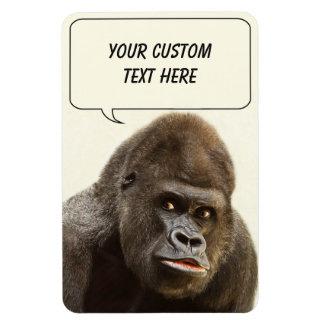 Funny Gorilla custom magnet