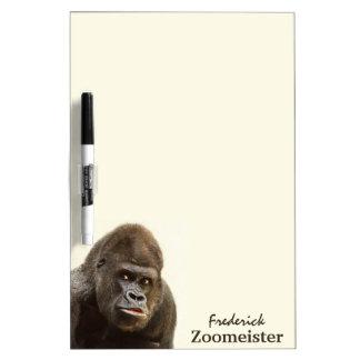 Funny Gorilla custom message board