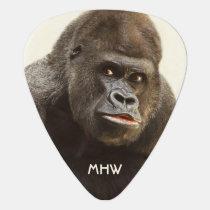 Funny Gorilla custom monogram guitar pick