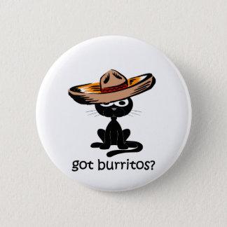 Funny got burritos button