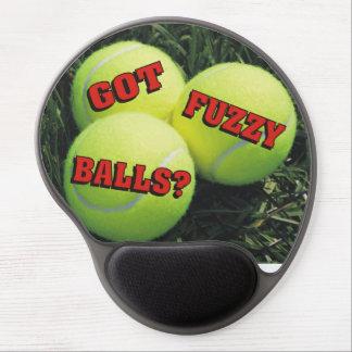 Funny Got Fuzzy Balls? Tennis Gel Mouse Pad