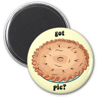 Funny got pie 2 inch round magnet