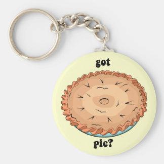 Funny got pie keychain