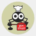 Funny got soup sticker
