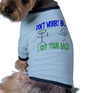 Funny Got Your Back Dog T Shirt