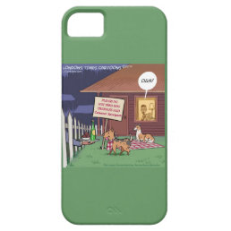 Funny Gourmet Dogs iPhone 5/5S Case
