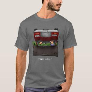 Funny GPS Recalculating Humor Tee Shirt