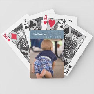 Funny GPS Toddler Crawling Playing Cards