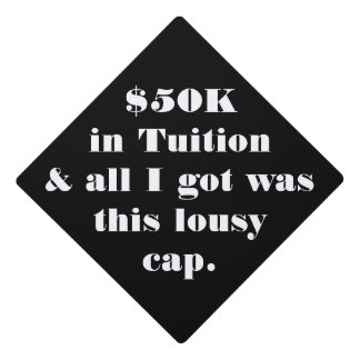 Funny Grad Cap - Customize With Any Message