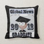Funny Grad Keepsake Pillow
