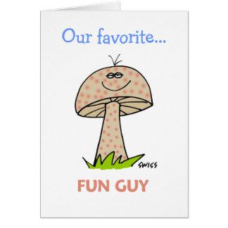 Funny Graduation Boy Invitations Greeting Card