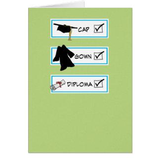Funny graduation card: Big Brain