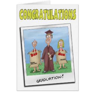 Funny Graduation Cards: Now get a Job Card