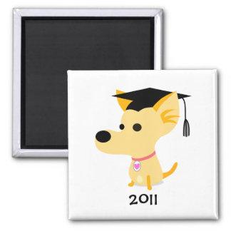 Funny Graduation Dog Fridge Magnets