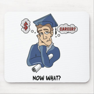 Funny Graduation Mouse Pad