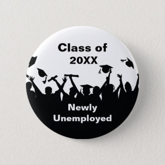 Funny Graduation Pin Buttons