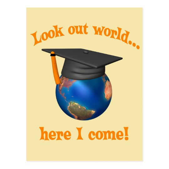 Funny Graduation Postcard