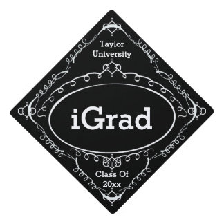 Funny Graduation Sign - iGrad Graduation Cap Topper