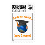 Funny Graduation stamps