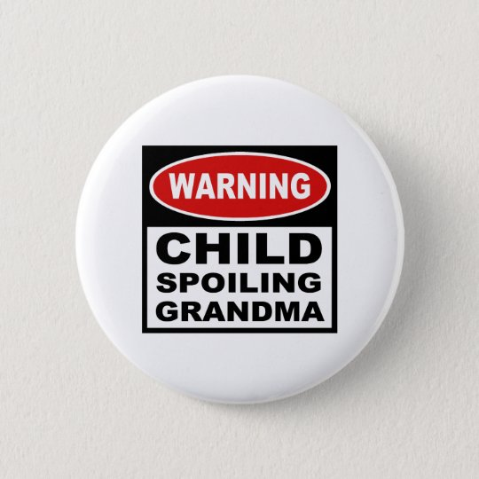 Funny Grandma Button
