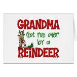 Funny Grandma Chrismtas Gift Card