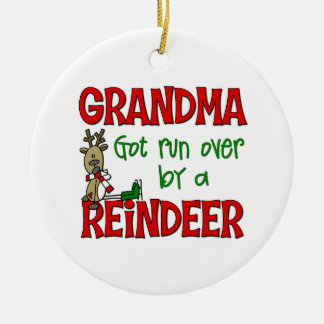Funny Grandma Christmas Ornament