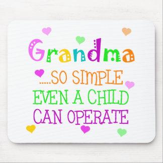 Funny Grandma Gift Mouse Pad