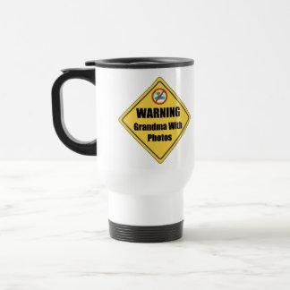 Funny Grandma Gift Travel Mug