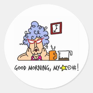 Funny Grandma Gifts Classic Round Sticker