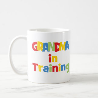Funny Grandma In Training Mugs