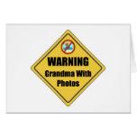 Funny Grandma With Photos Card