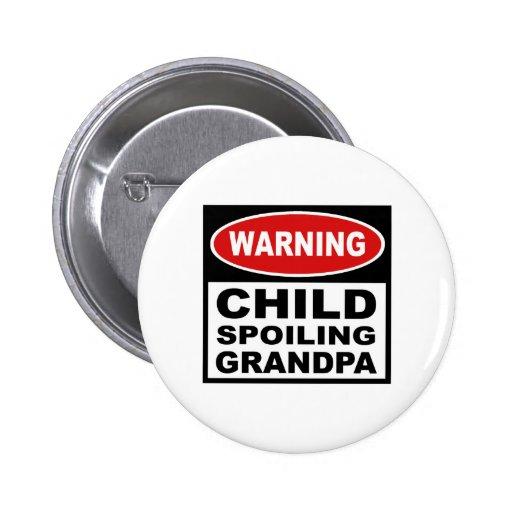 Funny Grandpa 2 Inch Round Button