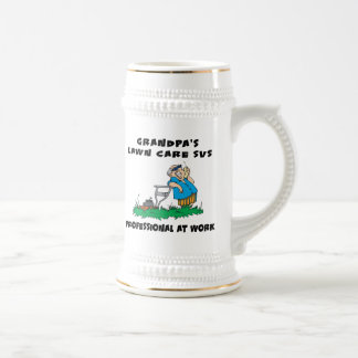 Funny Grandpa Gift Beer Stein