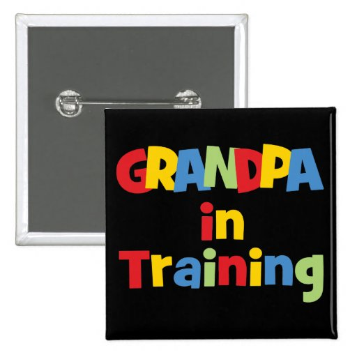 Funny Grandpa Gift Buttons