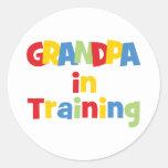 Funny Grandpa Gift Stickers