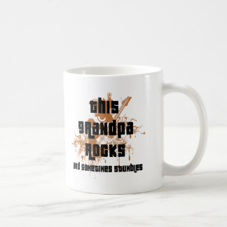 Funny Grandpa Rocks and  Stumbles Coffee Mug Coffee Mug