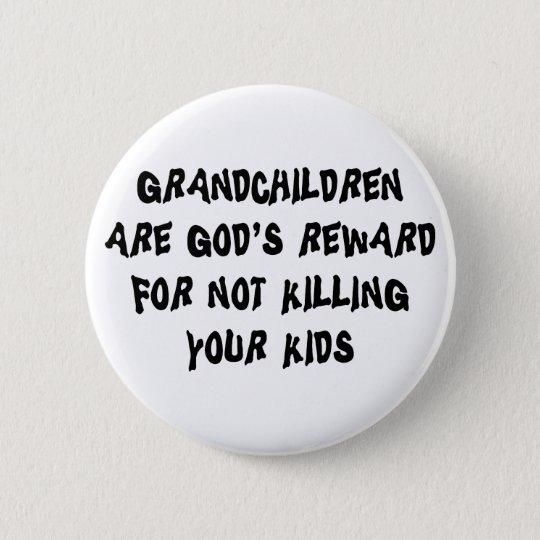 Funny Grandparents Button