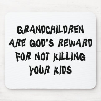 Funny Grandparents Gift Mouse Pad