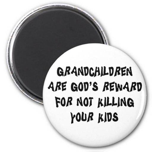 Funny Grandparents Magnet