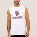 Funny Grape Popsicle Lover Sleeveless T-shirts
