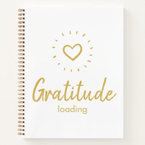 Funny Gratitude Loading Notebook